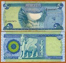 Iraq, 500 Dinars, 2004, First Post-Saddam Issue, Pick 92, UNC