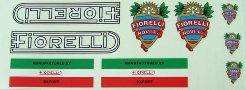 Fiorelli early decal set