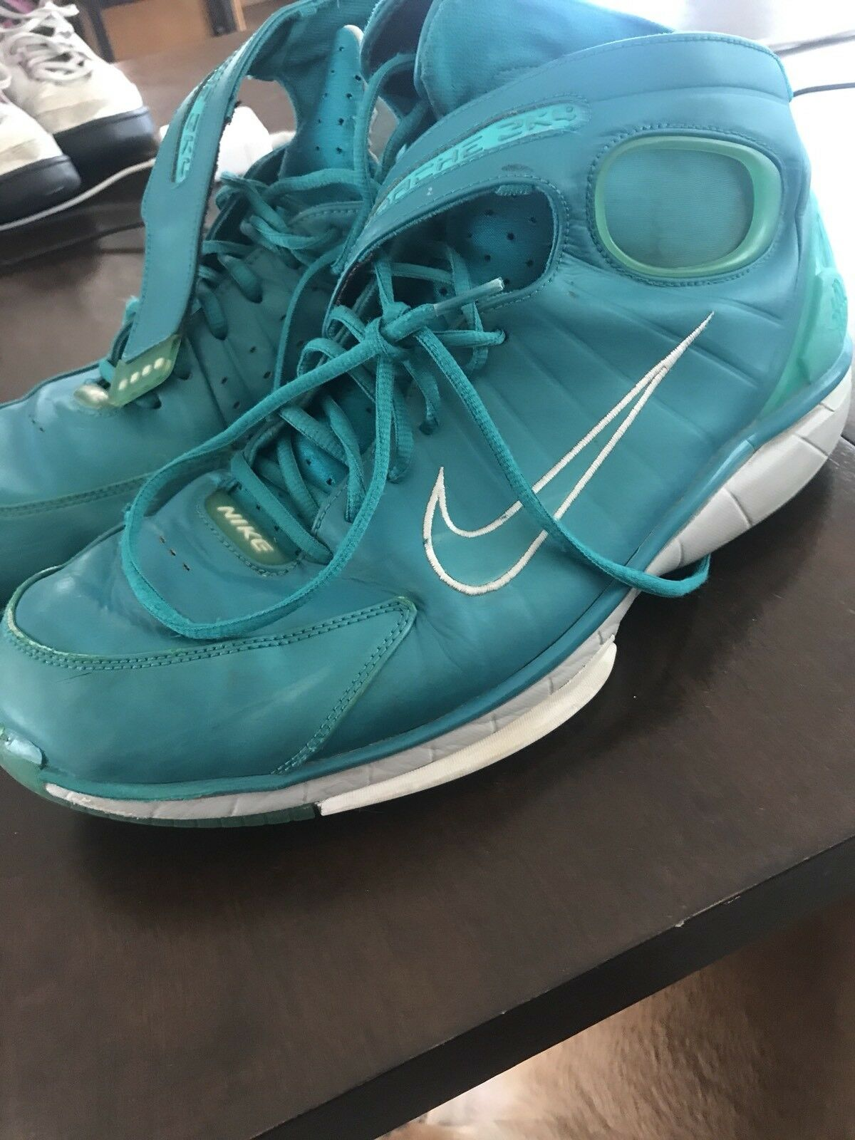 Nike Air  Zoom Huarache 2k4 KOBE Lush Teal 511425 330 Sz. 15 New shoes for men and women, limited time discount