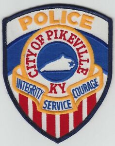 City-of-Pikeville-Police-Patch-Kentucky-Vintage