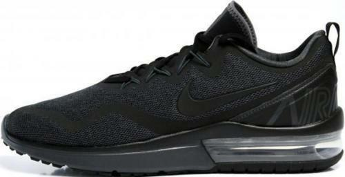 NIKE AIR MAX FURY AA5739 002 TRIPLE ALL BLACK RUNNING SIZE SNEAKERS