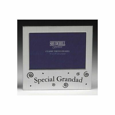 Cornice Foto Speciale Grandad Regalo Ricordo Memoriale Tributo Shudehill 73534-mostra Il Titolo Originale Ricco E Magnifico
