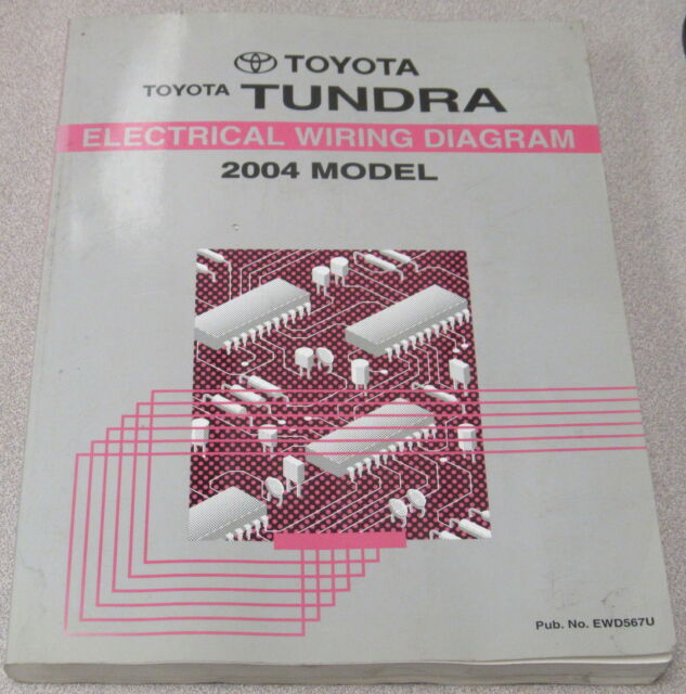 2004 Toyota Tundra Truck Electrical Wiring Diagram Service