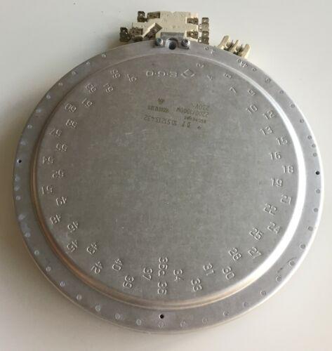 Zweikreis Heizplatte für Bosch Siemens 2200W 1000W 00356337 EGO 1051213432