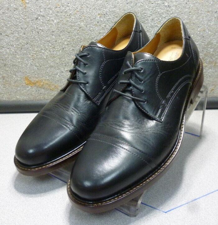 209791 WT50 Men's Shoe 11.5 M Black Leather Lace Up Johnston Murphy Walk Test