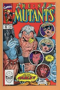 THE NEW MUTANTS #87, 1990 Marvel Comics, First Appearance of CABLE, NM