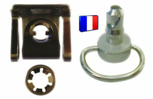 Vis-Moto-DZUS-carenage-quart-de-tour-Chrome-14-mm