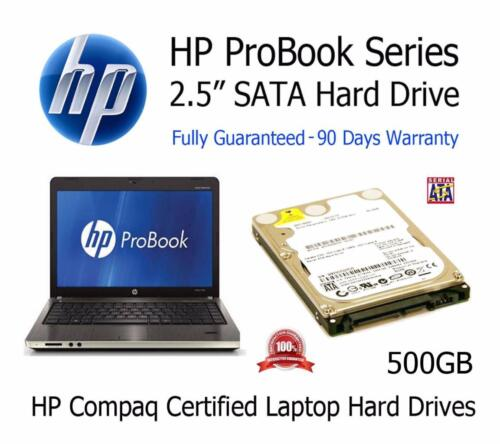"500GB HP ProBook 4420s 2.5/"" SATA Laptop Hard Disc Drive HDD Upgrade Replacement"