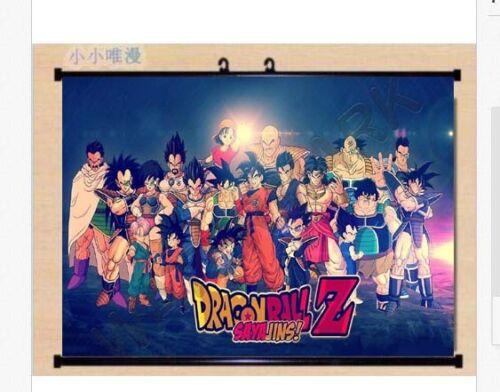 Wall Scroll Poster Dragon Ball Z Super Fighting Hot Japan Anime 60*40cm K58