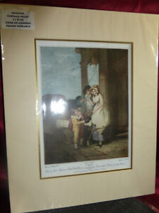 Vintage-Art-Print-CRIES-OF-LONDON-Frank-Whearly-1910-Original-engraving-A-Carden