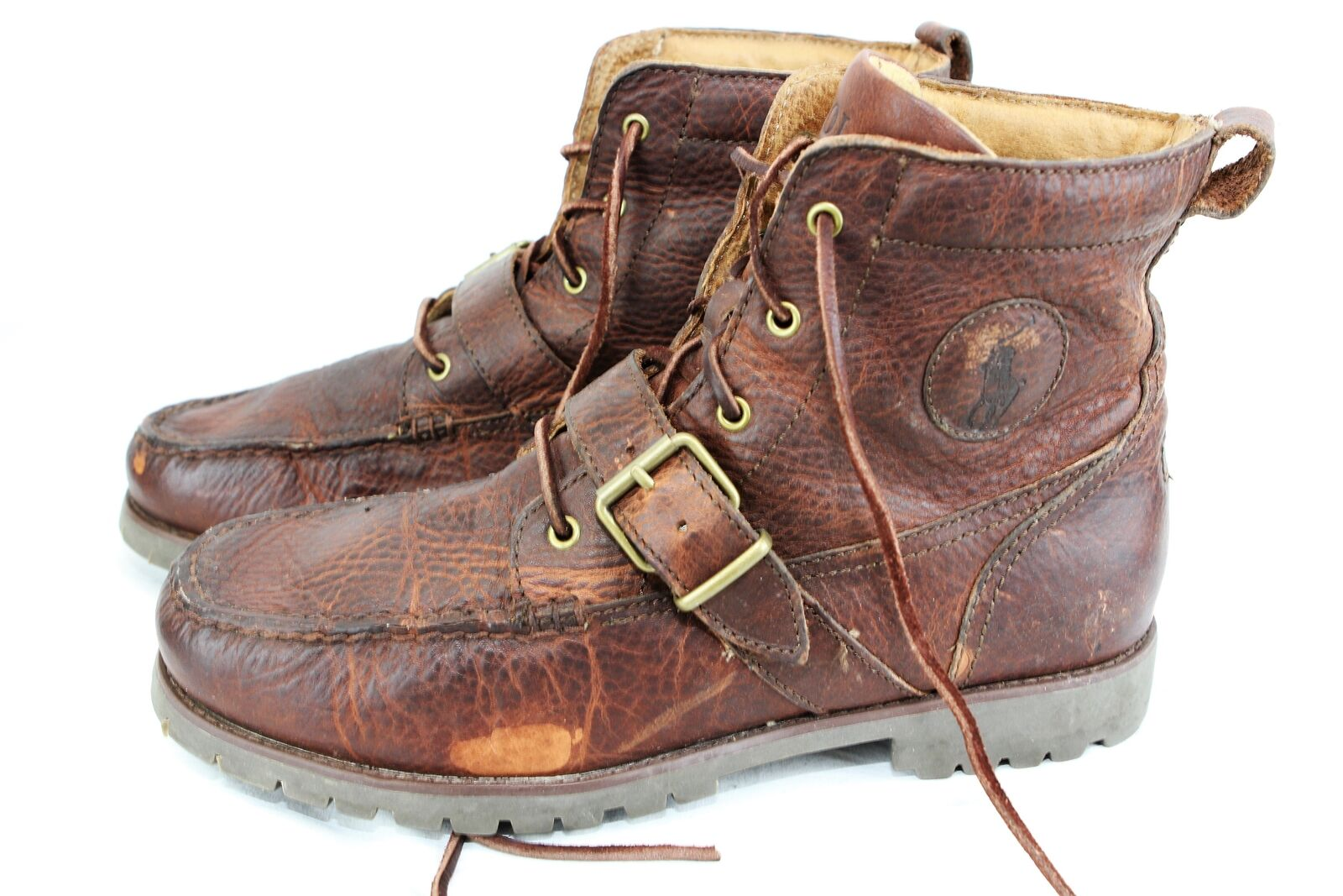 POLO Ralph Lauren Redmond BOOT Brown US 10.5D  Eur 44 420