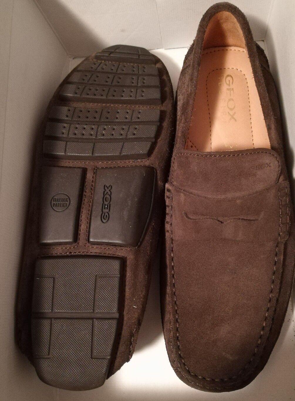 Geox U Melbourne para US Hombre US para 9 conducción Moc A Zapatos Para-ante marrón chocolate 5cde9d