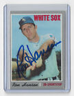 1970 WHITE SOX Ron Hansen signed card Topps #217 Autographed AUTO Chicago