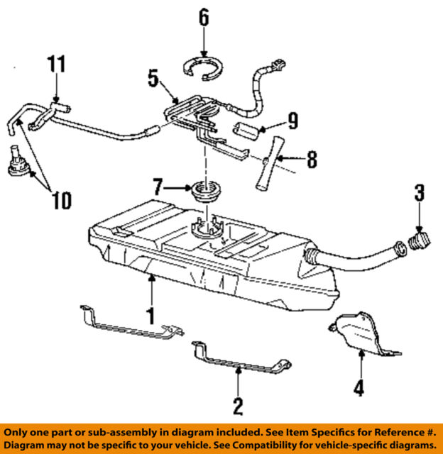 GM Genuine OEM 25164521 Fuel Pump Module 1996 97 Camaro ...