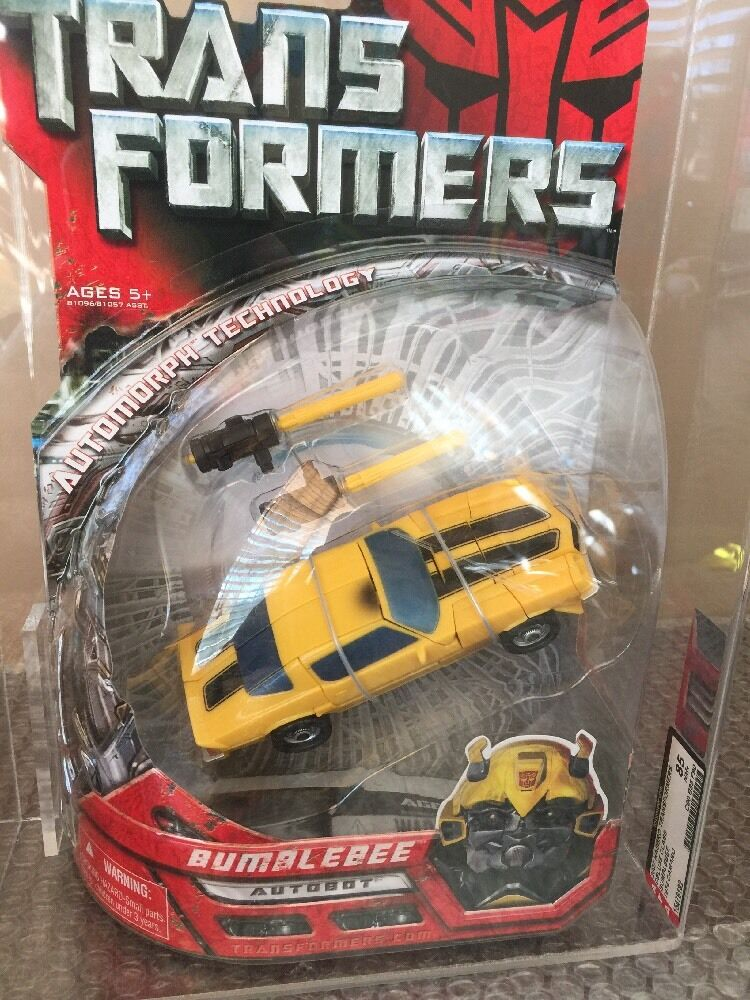 2007 Hasbro Transformers  Movie Deluxe Class  BUMBLEBEE superbe figurine Autorité 90 85 90 WOW  plus abordable
