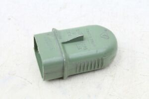 Antiques 1x Alter Plug For Socket Green Old Vintage Damp-proof Grimma In Short Supply Architectural & Garden