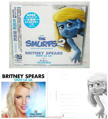 Britney Spears Ooh La La 2013 Taiwan Ltd CD+Postcard w/OBI ...