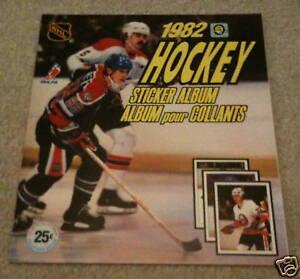 Image Is Loading 1982 O Pee Chee NHL Hockey Sticker Unused