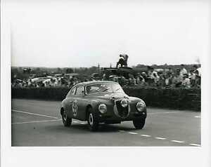 1952-Valenzano-Ippocampo-Lancia-B20-Le-Mans-Louis-Klemantaski-Race-Photo