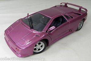 Maisto-Lamborghini-Diecast-Modelo-Coche-Deportivo-Escala-1-18-purpura-30-Edicion-Especial