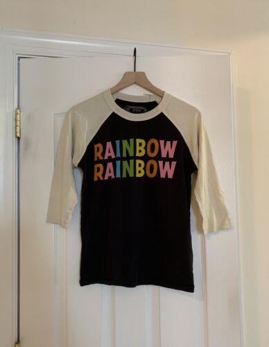 Big Bud Press Rainbow Rainbow Baseball Tee Size XX