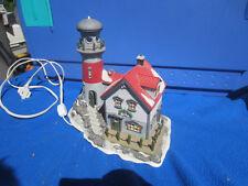 New England Village Series Pigeonhead Lighthouse Dept 56 56537 Heritage NO BOX
