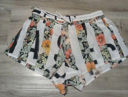 Details about  /Victoria Secret Floral Stripe Pajama Shorts Xs S *NWT*