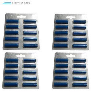 40 Duftstäbchen Dufti Staubsauger Duft Duftchips blau geeignet für Miele Bosch !