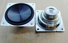 """2pcs 2.5"""" inch 8Ohm 8? 10W Full-range Audio Speaker Loudspeaker Horn For LG"""