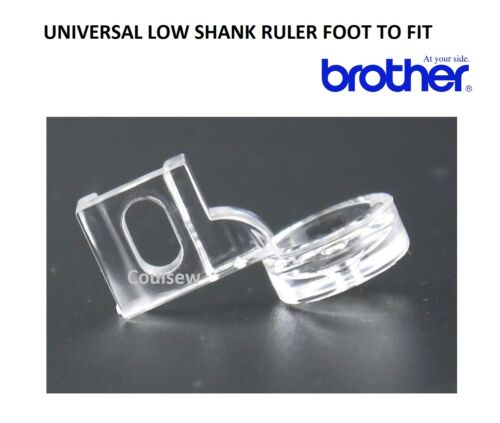 Fits BROTHER Screw Type RULER WORK FRAME TEMPLATE QUILTING LOW SHANK FOOT