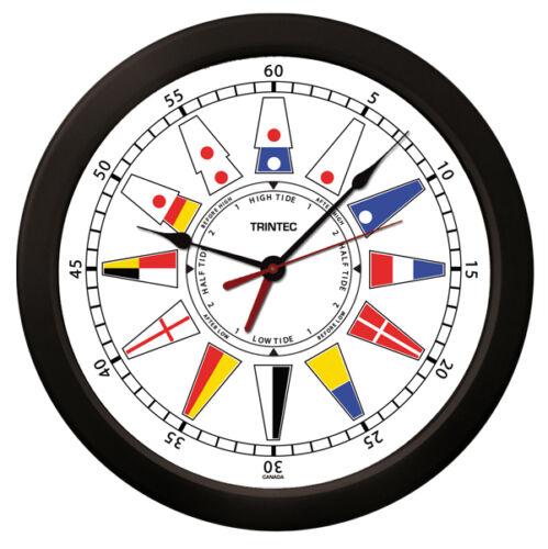 "TRINTEC  14/"" ATLANTIC NAUTICAL FLAG TIME AND TIDE CLOCKS AND TIDE INDICATORS"