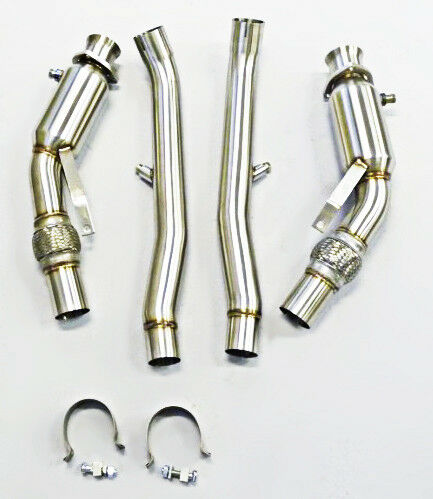 Becker Exhaust Turbo Down pipe Fits For 04 thru 08 Audi S4 B6 B7 M//T Only!
