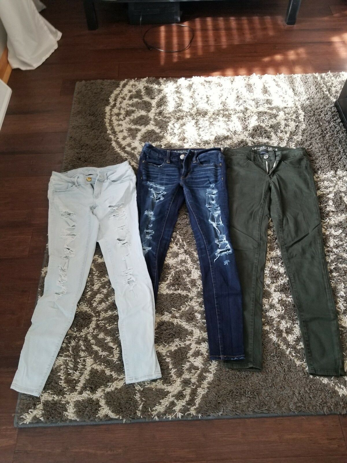 American eagle jeans size 2 regular