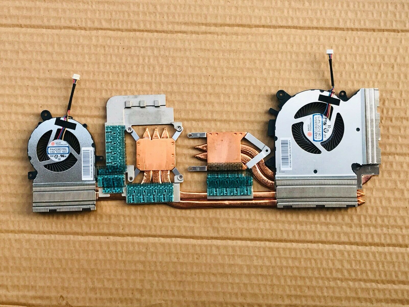 Original for MSI GF65-Thin CREATOR 15M A10SE COOLING FAN HEATSINK