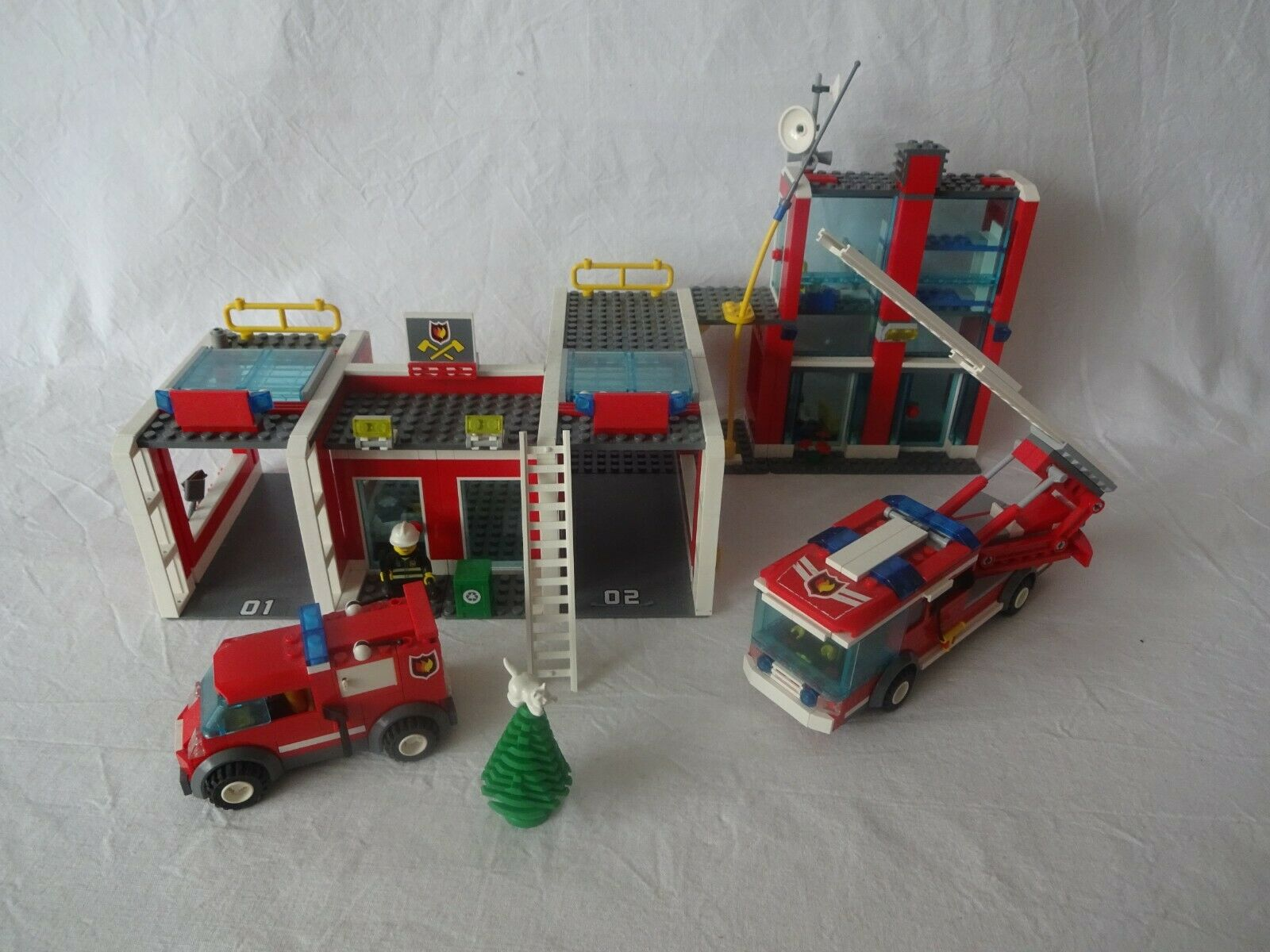LEGO ® City 7208 Fire Station