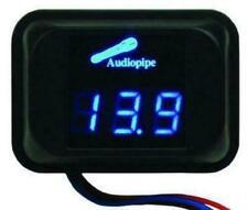 Nippon Audiopipe Nld 100 Digital Volt Meter Blue Led Car Audio 111 159 Volts