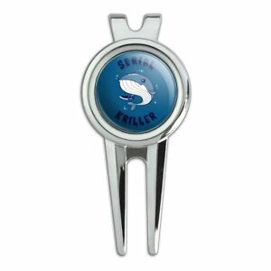 Serial-Kriller-Whale-Killer-Funny-Humor-Golf-Divot-Repair-Tool-and-Ball-Marker