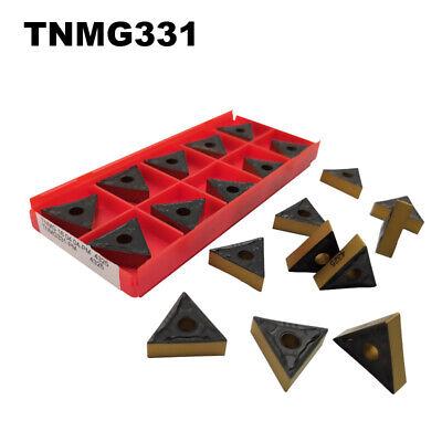 10pcs SANDVIK TNMG160404-PM4325  TNMG331-PM  New Carbide Inserts