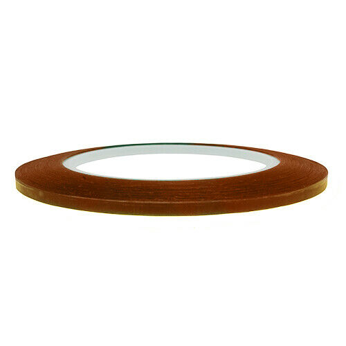 6.5 Pack of 4 Ultra High Temp Polyimide Fine Line Tapes 10 /& 12.7mm Sizes 3.5