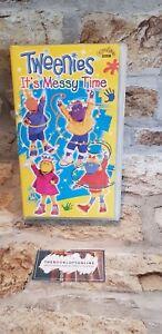 Tweenies-Its-Messy-Time-VHS-Video-Tape-Children-039-s-Favourite-BBC-TV-Vintage-TBLO