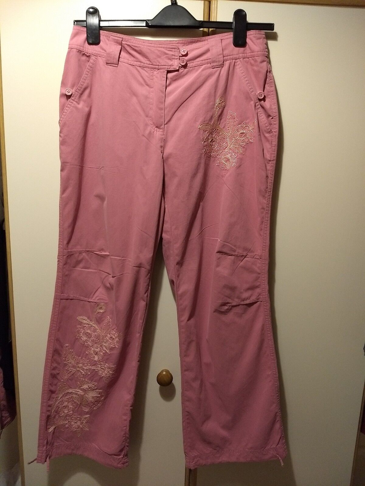 Brand New NEXT Petite Pink Trousers Christmas Birthday gift