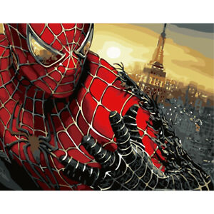 Hand Painted Super Hero Art