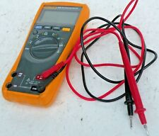 Fluke 179 True Rms Multimeter Usa With Test Leads Excellent Condition