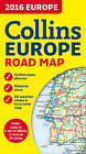 2016 Collins Map of Europe by Collins Maps (Sheet map, folded, 2015)