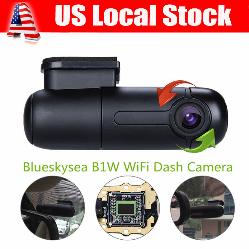 s-l1600 Vehicle 1080P Car Dashboard DVR Camera Video Recorder Dash Cam G-Sensor WIFI