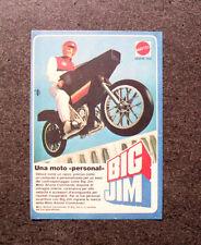 K858-Advertising Pubblicità-1984- BIG JIM , MATTEL , UNA MOTO PERSONAL