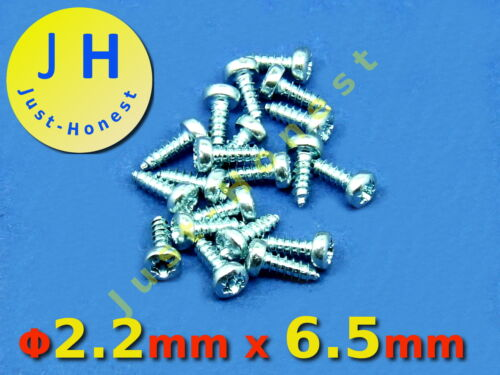 Stk.20x Schrauben 2.2 mm x 6.5 mm  Screws Universal 2,2 x 6,5 mm  #A322