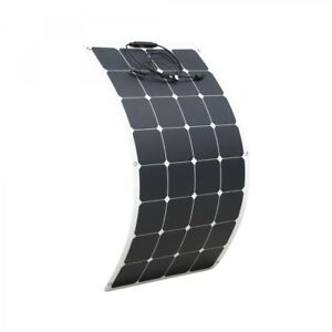 Solar Panels Cheap Sale 100w 12v Flexible Solar Panel Kit Caravan Boat Mono Battery Charging Camping
