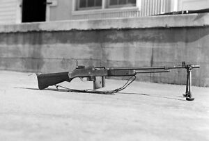 Details about WW2 Photo WWII US Browning BAR M1918 Machine Gun World War  Two Infantry /1498