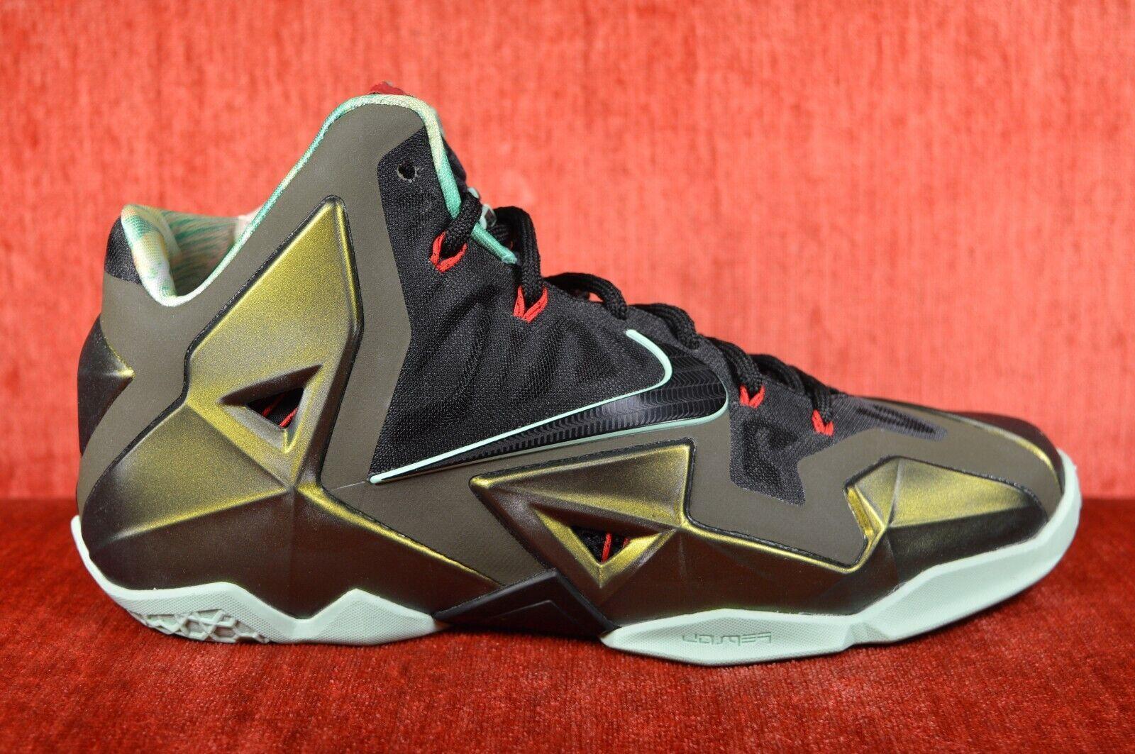WORN ONCE Nike Lebron 11 XI King's Pride Size 9 616175-700